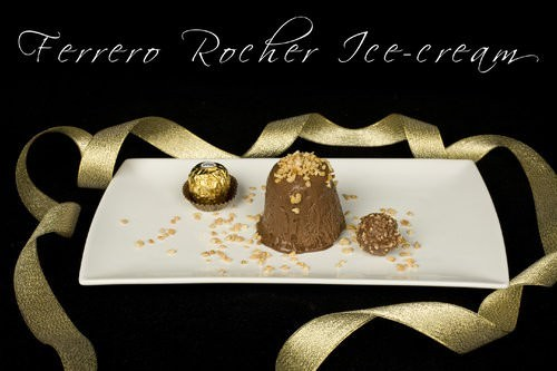 Ferrero Rocher Ice-Cream