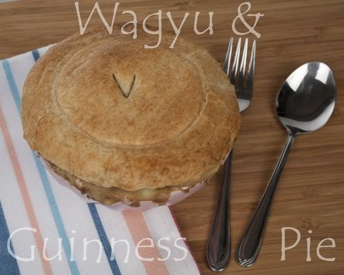 Guinness Pie, Waygu & Guinness Pie, Pot Pie
