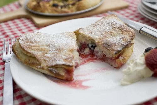 Mixed Berry and Mascarpone Calzone
