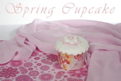Orange and Mango Spring Cupcakes