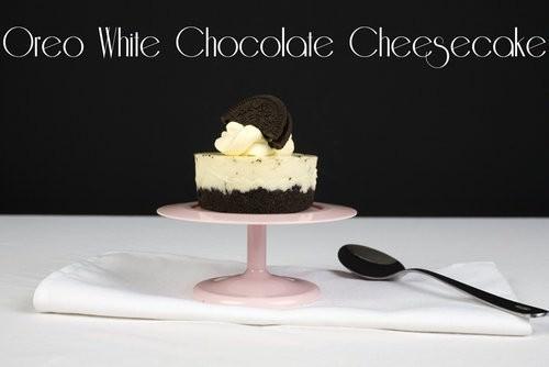 Oreo White Chocolate Cheesecake