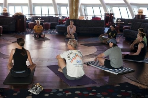 Yoga Class - Cruise Holiday