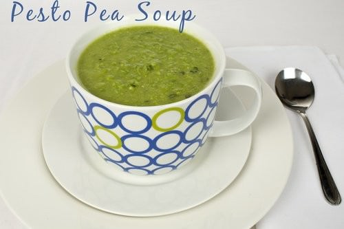 Pesto Pea Soup