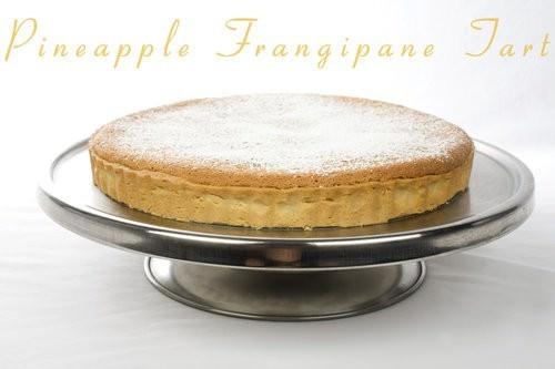Pineapple Frangipane Tart