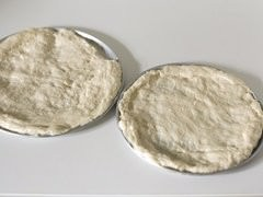 Pizza dough trays