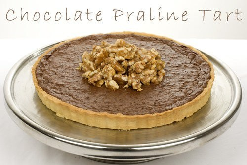 Praline Chocolate Tart