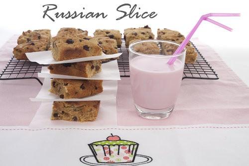 School Lunchbox Russian Slice