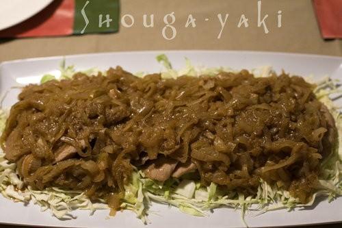 Shouga-yaki