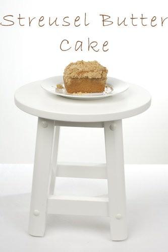 Streusel Butter Cake
