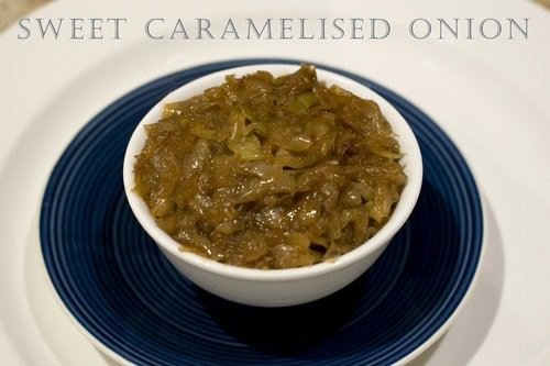 Sweet Caramelised Onion