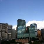 """Sydney Skyline from """"The Spirit of Tasmania"""""""
