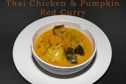 Thai Chicken & Pumpkin Red Curry