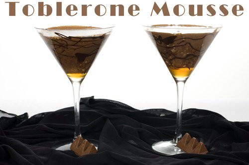 Toblerone Mousse Cocktail