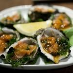 Pickled Ginger & Wakame Oysters