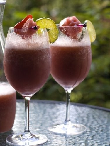 Watermelon Fizz Cocktail