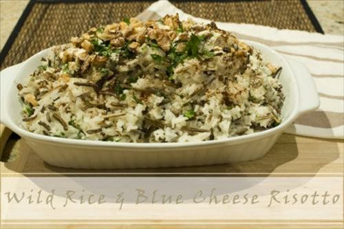 Wild Rice & Blue Cheese Risotto