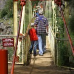 Crossing Cataract Gorge