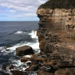 The Devils Kitchen near Port Arthur