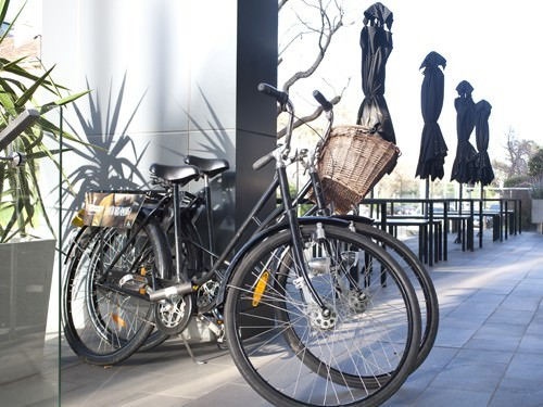 Push Bikes in Melbourne Street