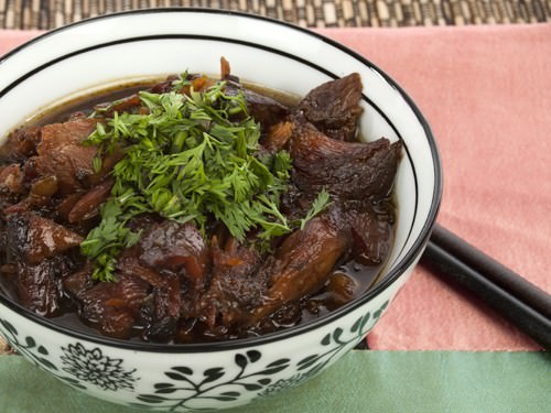 Slow Cooker Recipe - Honey Soy Lamb