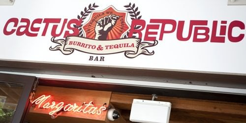 Cactus Republic Sign