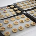 Lots of Cookies, ready for baking