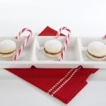 Macarons w Three Candy Canes
