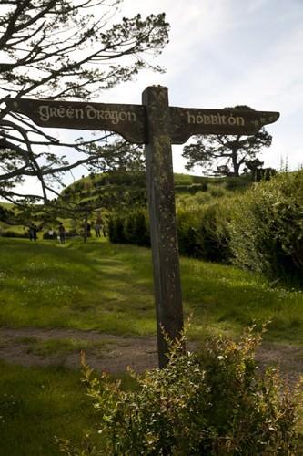 Green Dragon Signpost