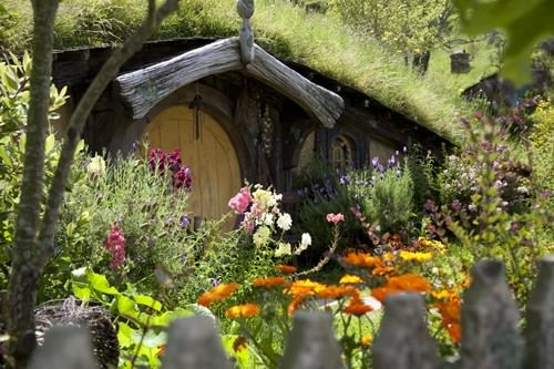 Hobbit Home in the hill