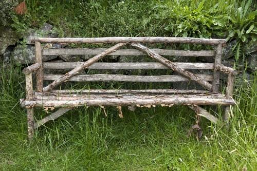 Hobbiton hand made bench seat