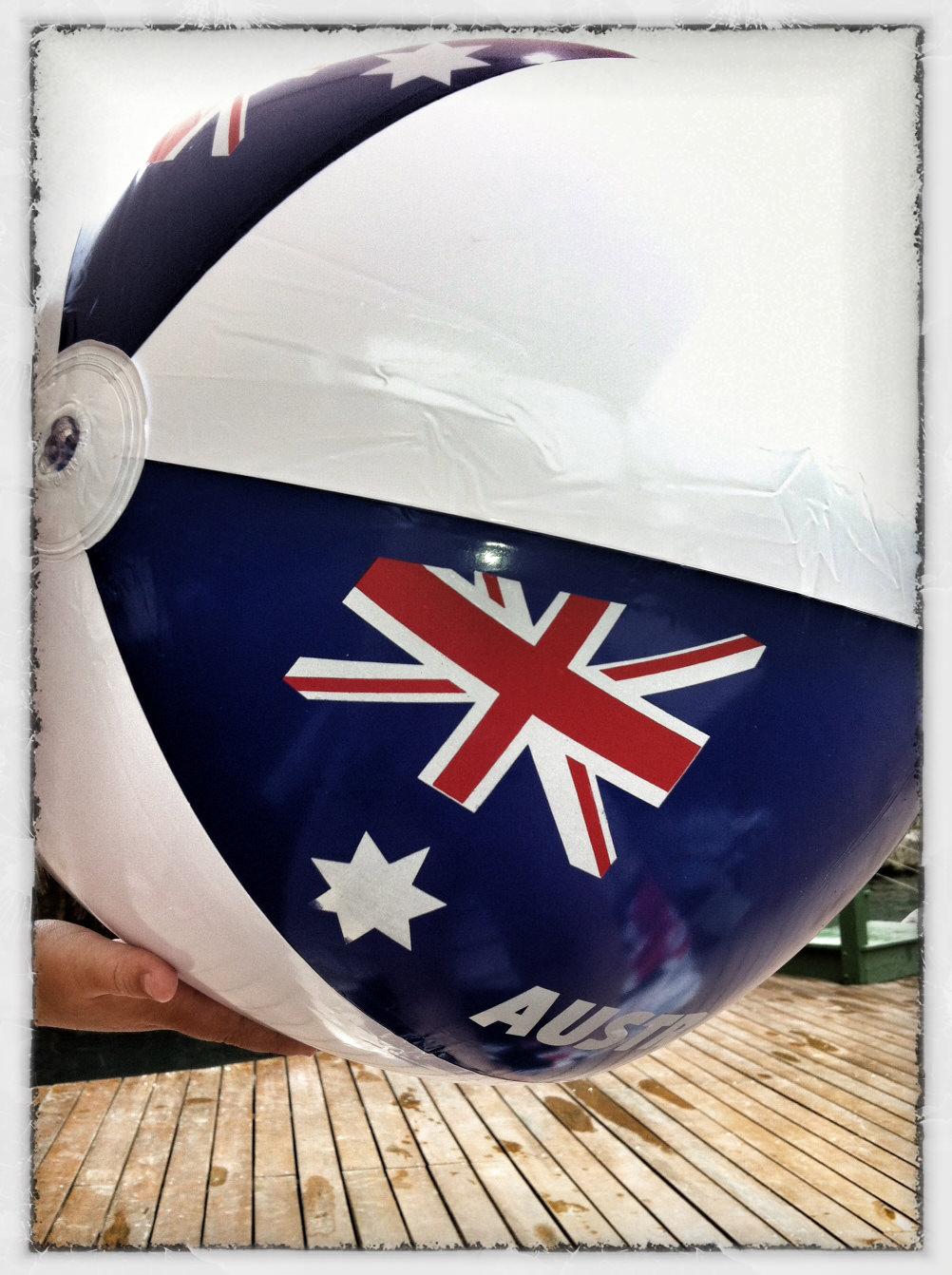 Australia Day Beach Ball