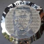 The Fergburger Menu
