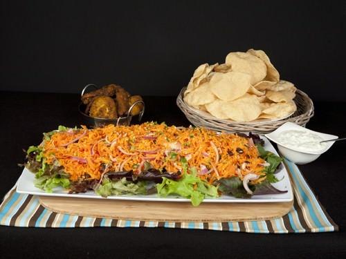 Indian Chicken & Carrot Salad Feast