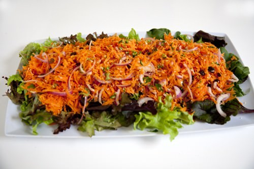 South Indian Spiced Carrot Salad