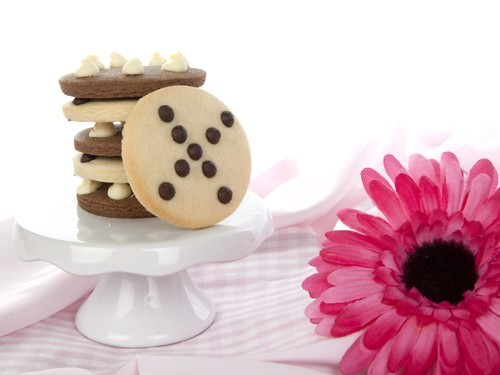Tic Tac Toe Cookie Stack