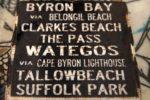 Byron Beaches Sign