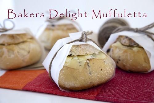 Bakers Delight Chicken Caesar Muffaletta