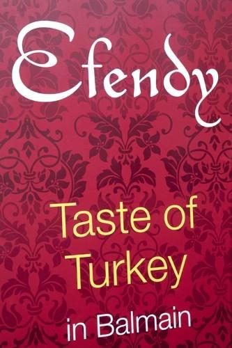 Efendy Restaurant Sign