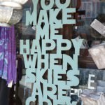 "Sign ""You make me happy"""