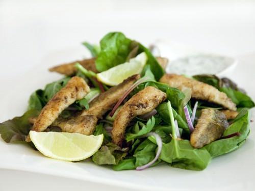 Healthy Flathead & Lemon Salad
