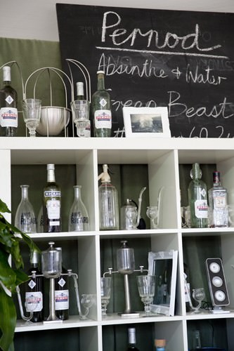 Pernod Absinthe Display