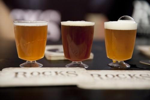Tasting 3 beers from Rocks Brewing Co
