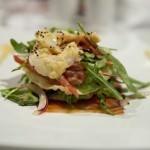 Salmon & Prawn Stack Salad Entree