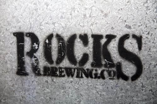 The Rocks Brewing Co Sign