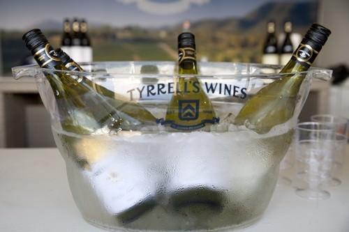 Chilling Tyrrells Wine