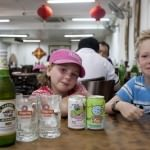 Chinese Beer & Soft Drinks for the kids
