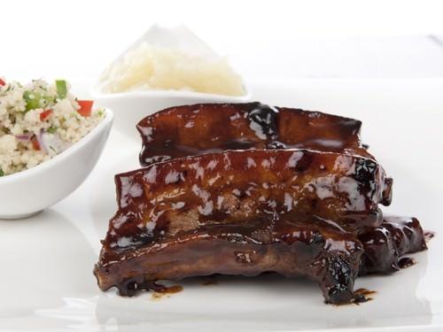 Sweet Glazed Pork Ribs
