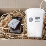 Little box of Yum Choc Truffle Sauce & Spun Fairy Floss