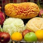 Penang Carved Fruit