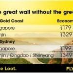 Cheap Flights to Singapore & China
